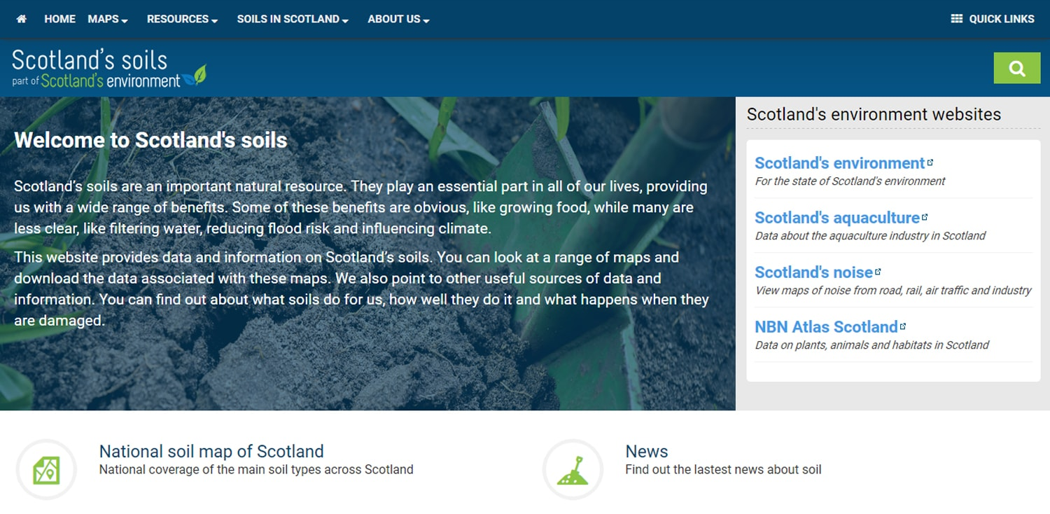 A new look for Scotland's soils