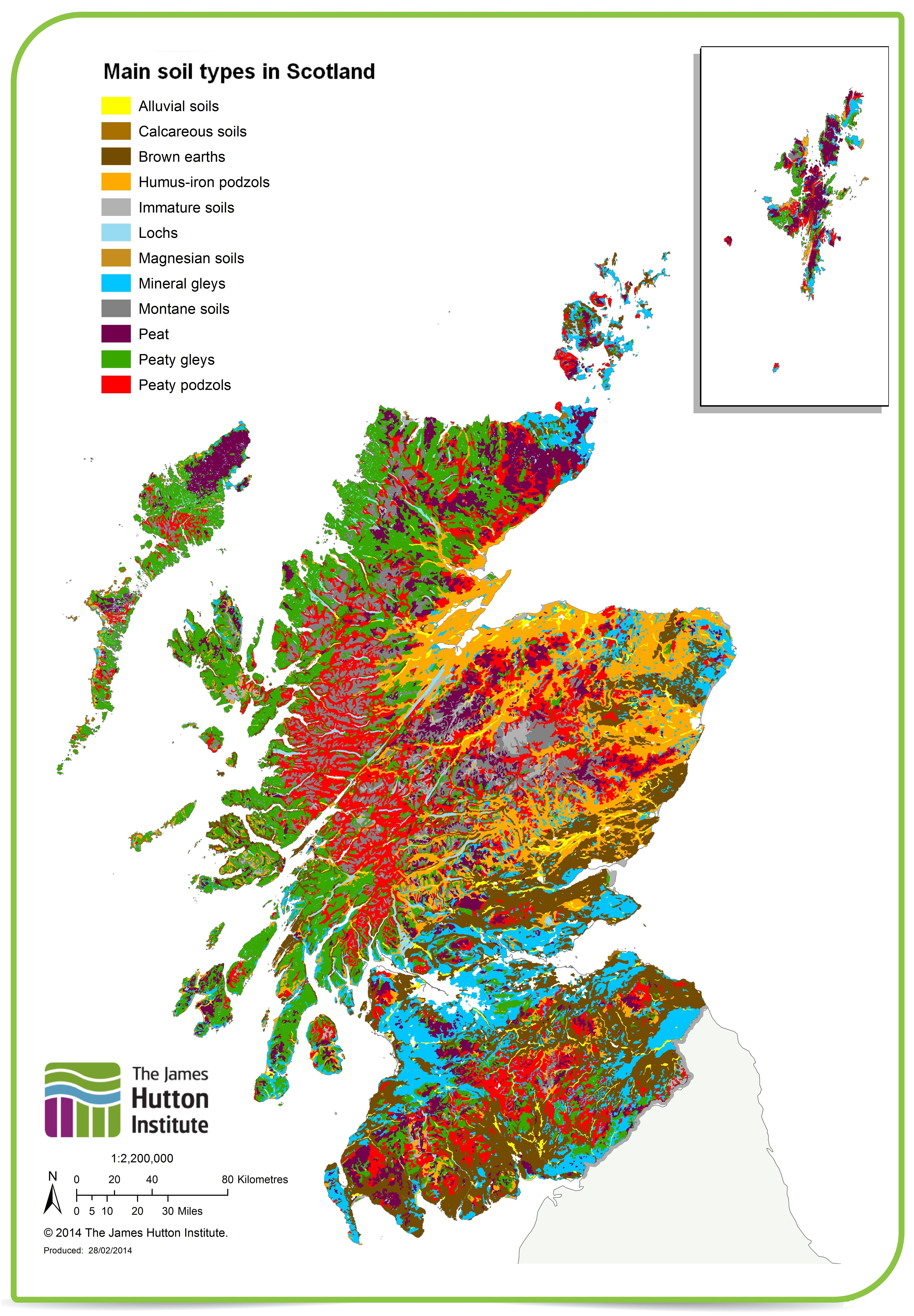 Land scotland 39 s environment web for What type of resource is soil