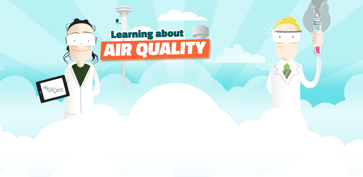 Learn about air quality