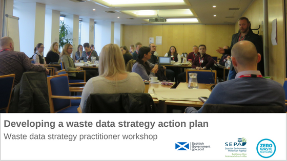 Developing a Waste data strategy action plan