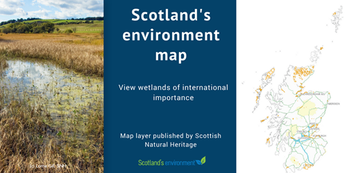 Scotland's environment web map - Wetlands