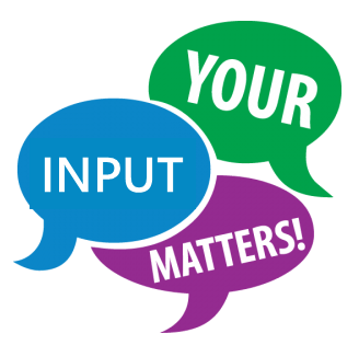 Your input matters